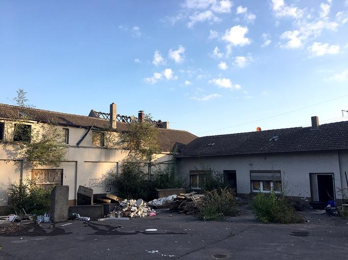 Dachstuhlbrand in Frillendorf, 10.09.2019